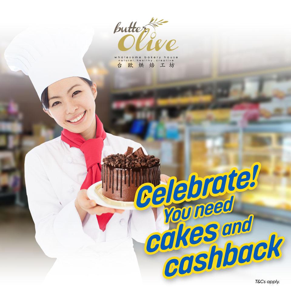Celebrate! You need cakes and cashback