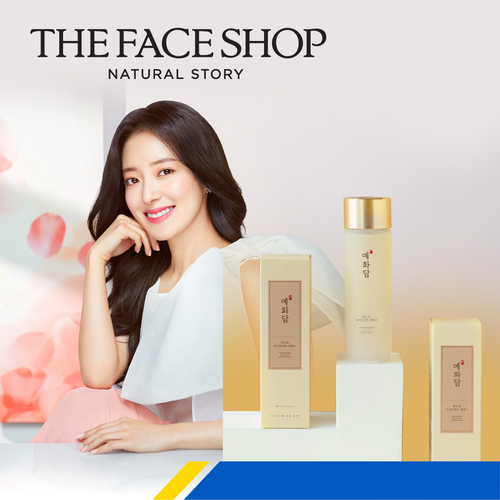 RM10 discount at The Face Shop